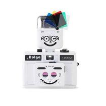 Cámara Holga Tim Half Frame Con Flash Rollos 35mm Lomography