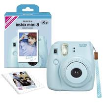 Cámara Fotográfica Instantánea Fuji Instax Mini 8 Color Azul