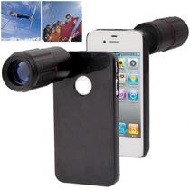 Lente Camara Iphone 4 & 4s(black) Entrega10dias Ip4g|1808b