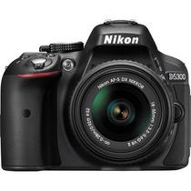 Cámara Nikon D5300 Kit 18-55mm 24.2mp Wi-fi Gps