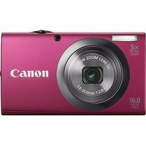 Canon - Powershot A2300 Cámara Digital De 16.0 Megapíxeles