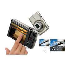Camara Nikon Coolpix S6100 16mp Touch Screen Plateada Nueva