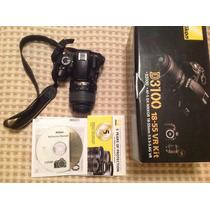 Increíble Kit Cámara Nikon D3100 + Lente Nikkor 18 -55m
