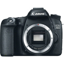 Cámara Digital Canon Eos 70d (cuerpo) 20.2m Full Hd Vídeo