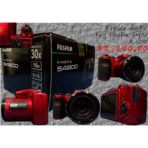 Cámara Fuji Finepix S4800, 30x, 16 Mpx, Video Hd