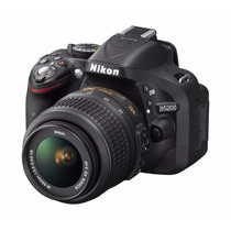 Camara Nikon D5200 24.1 Mp Kit Con 18-55mm F/3.5-5.6g Vr Dx