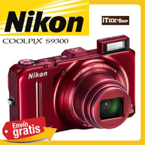 Nikon Coolpix S9300 Camara Digital 16mp - Envio Gratis -