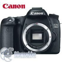 Canon Eos 70d Cuerpo Cámara Digital Dslr