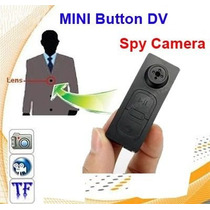 Mini Dv Camara Espia Tipo Boton Indetectable / 16gb Max.