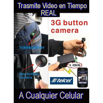 Boton Espia Camara Tipo Examen Trasmite Video En Tiempo Real