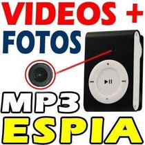 Mini Camara Reproductor Mp3 Espia Dvr Video Fotos O Audio