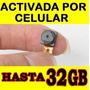 Camara Espia 14 Hr Microfono Espia Activado Por Celular 32gb
