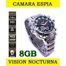 Camara Reloj Espia Sensor Movimiento Hd 1080p Sony 12mp Au1