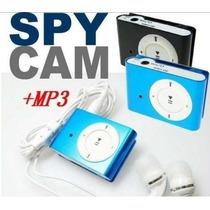 Reproductor Mp3 Con Mini Camara Espia 32gb Omm