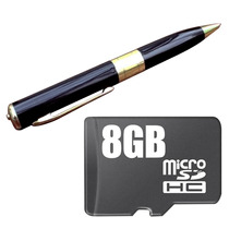 Pluma Con Camara Espia Hd Memoria 8gb Integrada