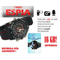 Reloj Espía Camara Oculta Video Hd 16 Gb! Sony Compara.