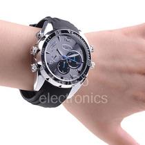 Reloj Espía Hd Con Visión Nocturna Resistente Al Agua 8gb