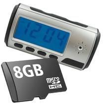 Despertador Espía Vídeo 8gb Sony Reloj Cámara Oculta.