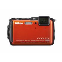Tb Nikon Coolpix Aw120 16 Mp Wi-fi And Waterproof