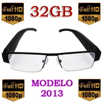 Lentes Fashion Camara Espía Oftamilco Hd 32gb Super Slim Mdn