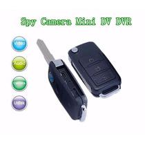 Llavero Espía Tipo Control Auto Usb Micro Sd Audio Video