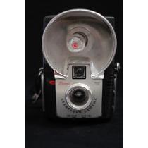 Camara Antigua Kodak Brownie Starflash Negra Envio Incluido
