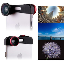 Lente 3 En 1 Iphone 6 6 Plus Macro Doble Fish Eye Angular