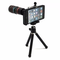 Lente Zoom Optico8x Iphone Galaxy Universal Con Tripie