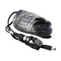 Cable Siames 20mt Con Conectores Cctv Videovigilancia Au1.