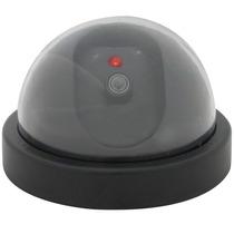 Camara De Seguridad Falsa Tipo Domo Con Led Y Sensor Vigilar