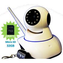 Camara Hd 1mpx Dvr Interno Wifi Seguridad App+sd 32gb Gratis