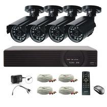 Sistema Vigilancia Internet Utmark 4 Camaras De Seguridad
