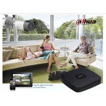 Kit 1080p 4 Camaras Dvr Disco Nube Internet Cctv Dahua P2p