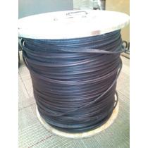 Cable Coaxial 450mts Siamés Rg59 Con Mensajero 2x20 Viakon