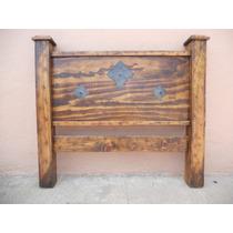 Cabecera Rústica.madera De Pino Apolillada.excelente Calidad