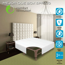 Base Para Cama Colchon Matrimonial Reemplaza Box Spring