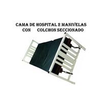 Cama De Hospital Con Colchon Seccionado
