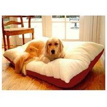 Cama Para Perro Majestic Pet Rectangle Pet Bed Red Extra Gr