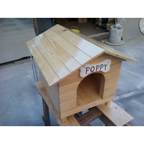 Casa Para Perro Mini De Madera Tipo Snoopy Numero 0