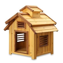 Casa Para Perro Mascotas Squeak Bird Dog House Pequeño - (2