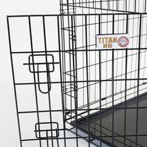 Elegante Jaula De Doble Puerta Para Mascota Wire Dog