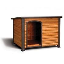 Casa Para Perro Precision Pet Extreme Log Cabin Nat . Manch