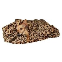 Cama Para Perro Manta Cheetah Mink Perro Nido En Brown Tama