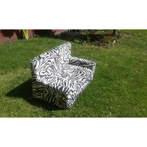 Sofa Cama Para Perros - Estilo Cebra Exótico - Talla #1