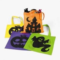De Halloween Bolsas De Asas - 12 Por Pedido - Grande 16 Pulg