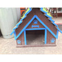 Casa Para Perro Madera Mediana Varios Colores Envió Gratis