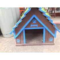 Casa Para Perro Madera Varios Tamaños Y Colores Envio Nacion