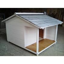 Casa Para Perro Terraza Lateral No 6 Techo Contra Lluvia