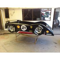 Cama Ferrari 458 Challenge Para Niño Colchon Individual