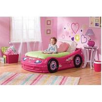 Cama Carro Princesa Infantil Rosa
